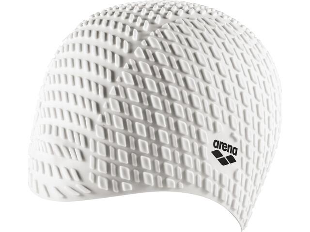 arena Bonnet Silicone Bonnet de bain, white